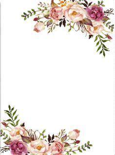 floral border clipart invitaciones de boda  flores