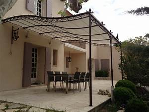 pergola sur mesure en fer forge hv creation With pergola en fer forge pour terrasse