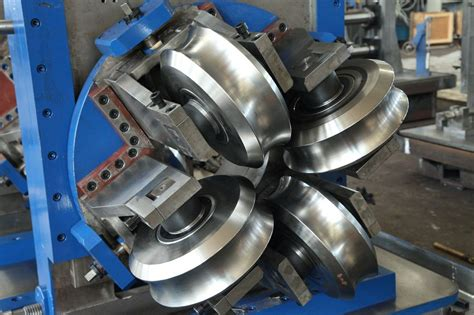 rolled steel mill machine roll forming machine