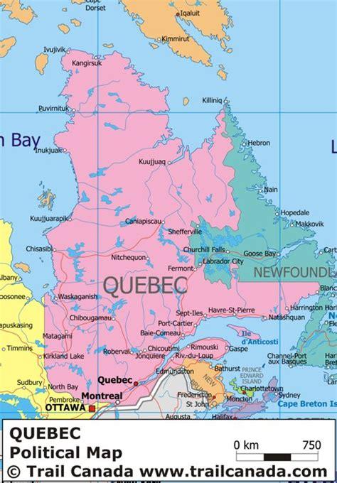 map  quebec canada sylvie guillems