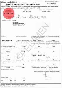 Carte Grise Non Faite Par Le Vendeur : certificat provisoire d 39 immatriculation cpi ~ Gottalentnigeria.com Avis de Voitures