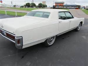 1971 Lincoln Continental 4 Door