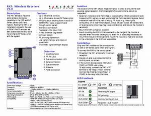 Paradox Esprit 728 738 Ultra 4 4 Reference And Intallation