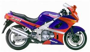 Kawasaki Zzr600 1990