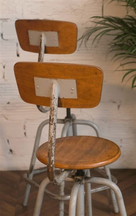 chaise haute solde vintage industrial highchairs designer chairs architect chair