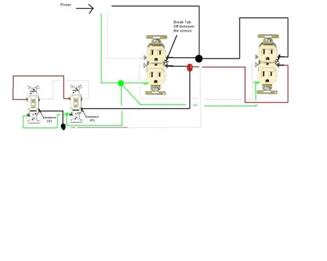 how to wire a light switch and outlet aiomp3s club