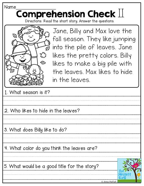 by suzanne beck special ed reading comprehension worksheets free reading comprehension