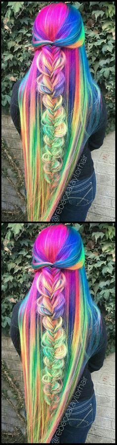 1000 Images About Colorful Hair On Pinterest Scene Hair