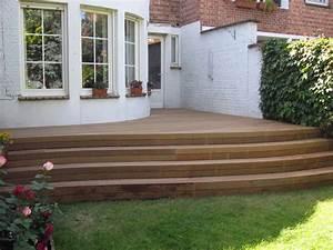 Escalier Terrasse Bois : escaliers et garde corps les sens du bois ~ Nature-et-papiers.com Idées de Décoration