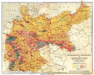 Population density German Empire 1890 by mrotsten on ...