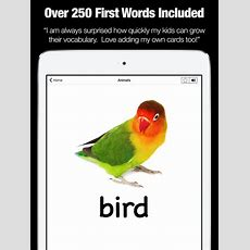 My First Words  Flashcards & Games  App Voor Iphone, Ipad En Ipod Touch Appwereld