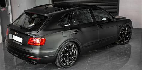 Bentley Bentayga Modification by Bentley Bentayga Gets Tuned From Wheelsandmore Produces