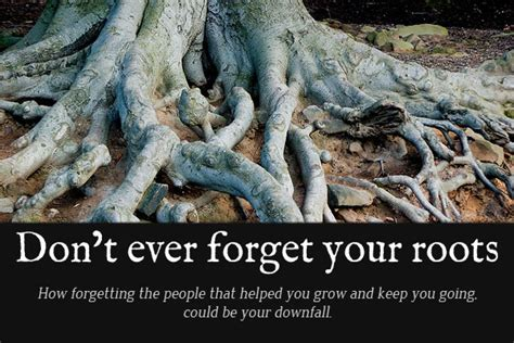 Always Remember Your Roots Quotes