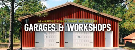 custom steel garage workshop kits worldwide steel