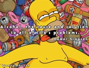 Simpsons Birthd... Simpson Drunk Quotes