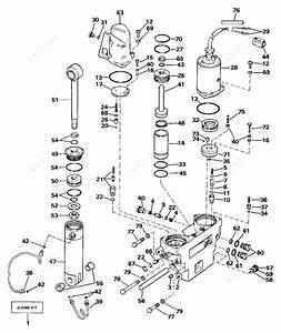 Evinrude 1989 120  Tilt Hydraulic