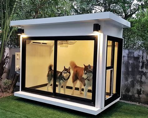 Some homeowners insurance companies restrict certain dog breeds from coverage because they consider them a higher risk to cause a liability claim. 30 Most Amazing Dog Houses PICTURES - Dogtime