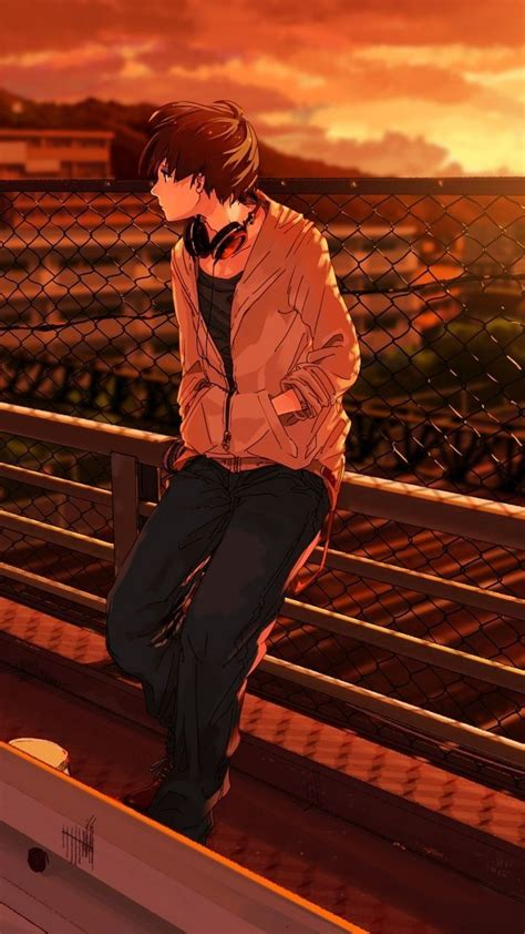 sad anime pfp boy aesthetic sad anime boy page 1