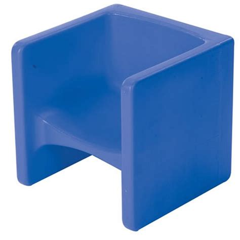 discounted cube chair blue t561nh