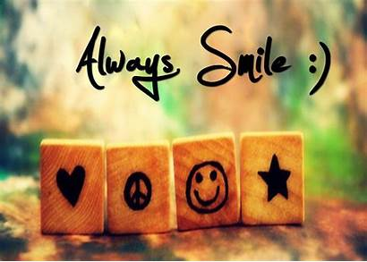 Smile Wallpapers Quotes Always Mobile