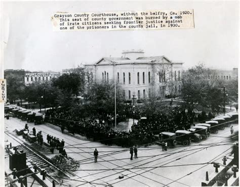 Ja Makin Me Sherman Tx by Circa 1920 Grayson County Court House Spadiva