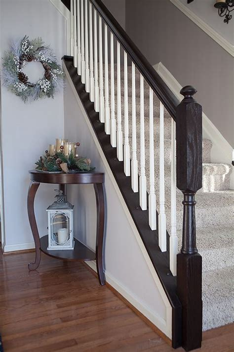 oak banisters i finally tackled those outdated orange oak stair
