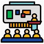 Classroom Education Icon Learning Icons Schoolroom Training