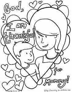 5 Mother's Day Coloring Pages [Easy Print] Ministry-To ...
