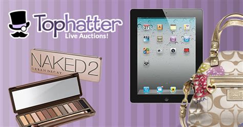 tophatter  auctions   credit