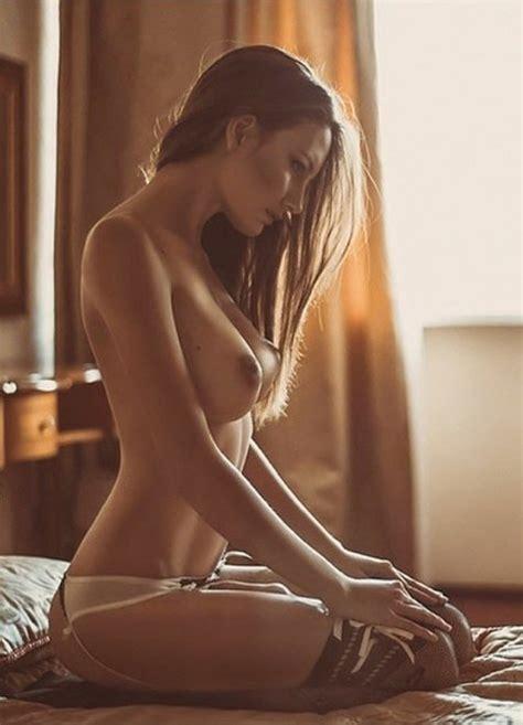 On Her Knees In Bed Porn Pic Eporner