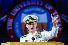 NY Times editorial by Adm. William H. McRaven