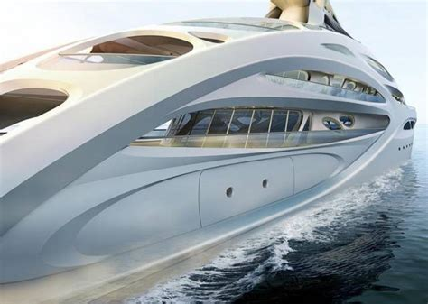 Yacht In The Water Song by Wordlesstech Blohm Voss Superyachts By Zaha Hadid