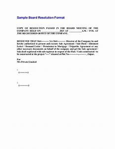 sample board resolution bank signatories With corporate board resolution template