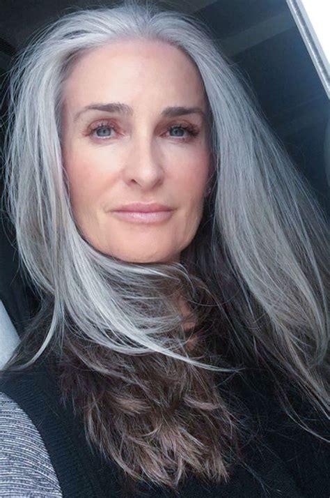 Salt And Pepper Gray Hair Grey Hair Silver Hair White