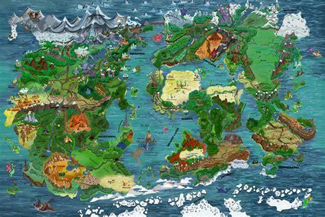 map  equestria    keenkris  deviantart