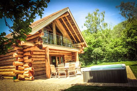 Log Cabin Tub by River Cabins Luxury Log Cabins In Carlisle Cumbria