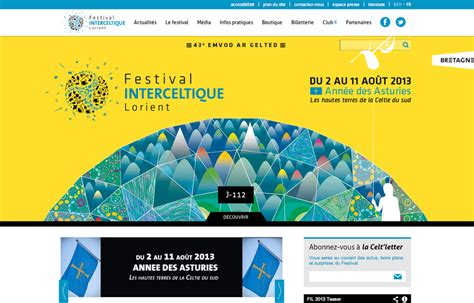groupe bureau veritas cyanéa nantes webdesign du site du festival festival
