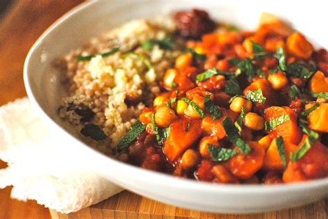 cuisine végé tunisian chickpea and vegetable tagine food to glow
