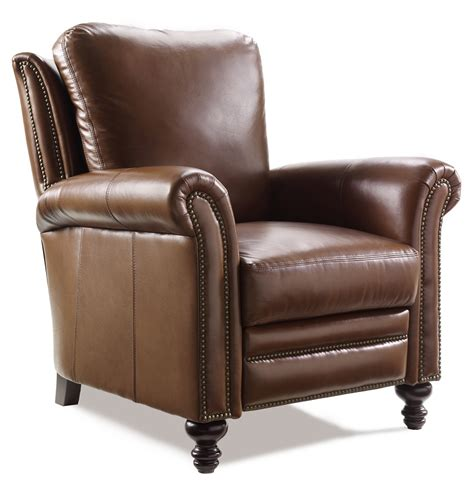 richardson leather recliner by bradington furniture