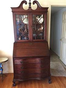 maddox mahogany governor winthrop chippendale secretary