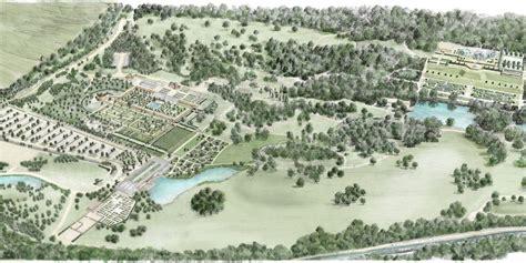 Bridgewater is being created in 156 acres of the former worsley new hall estate. Coronavirus: RHS Bridgewater Garden Opening Postponed