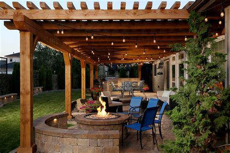wood patio covers boise townsend