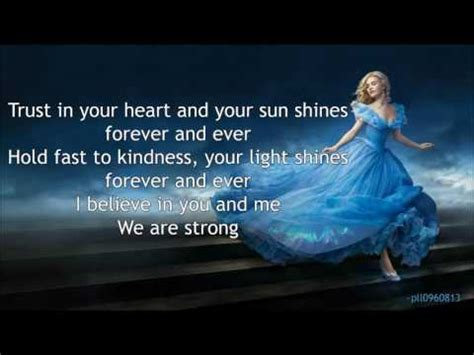 sonna rele strong lyrics cinderella  soundtrack youtube