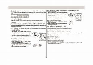 Mitsubishi Mxz 4a80va Air Conditioner Installation Manual