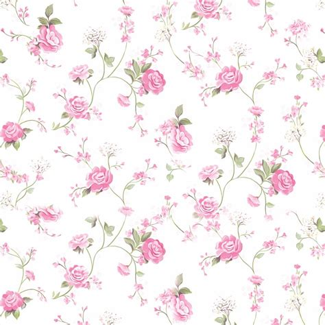 papel de parede floral branco rosa lav 225 vel adesivo