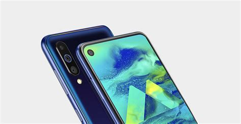 samsung galaxy m40 with infinity o display launched in india for 19 990