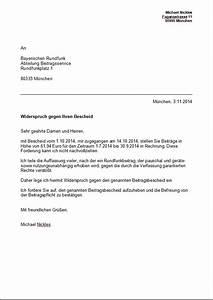 Widerspruch Rechnung Frist : bu geld einspruch vorlage ~ Themetempest.com Abrechnung