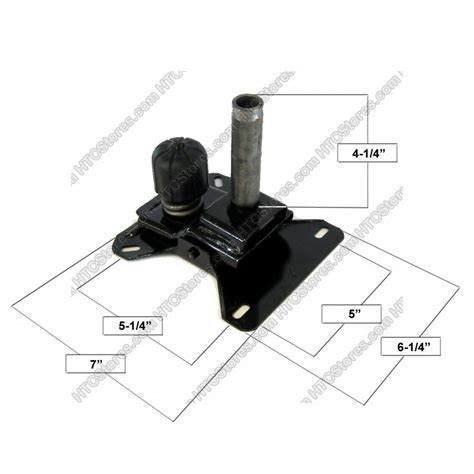 Tempo Replacement Swivel Tilt Mechanism for Caster Chairs