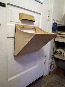 mail slot catcher pouch basket box thingeemabob With the letter catcher