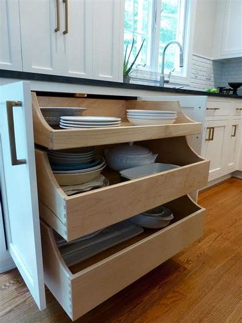 Kitchen Pullout Drawers Underneath You Can Open Up The